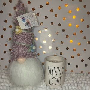 "🎉🎉 New Rae Dunn ""BUNNY LOVE "" Easter Candle"